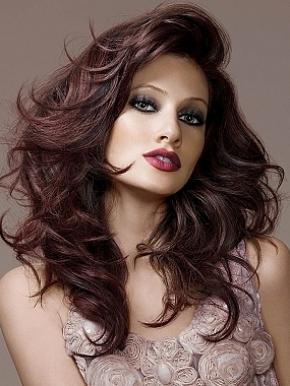 Прически на длинные волосы 2011