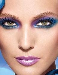 голубой макияж серо голубой макияж ...