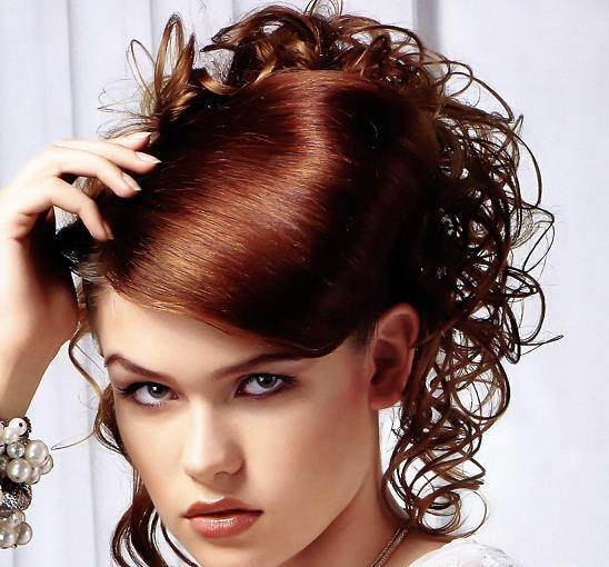 вечерние прически на укороченные волосы фото