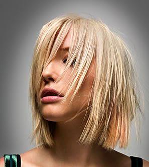Причёски для круглого лица