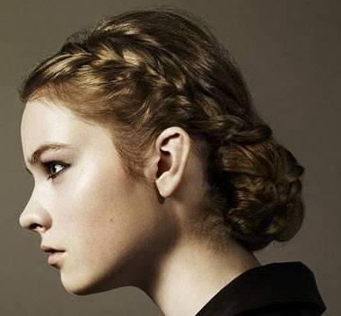 Косы на средние волосы прически
