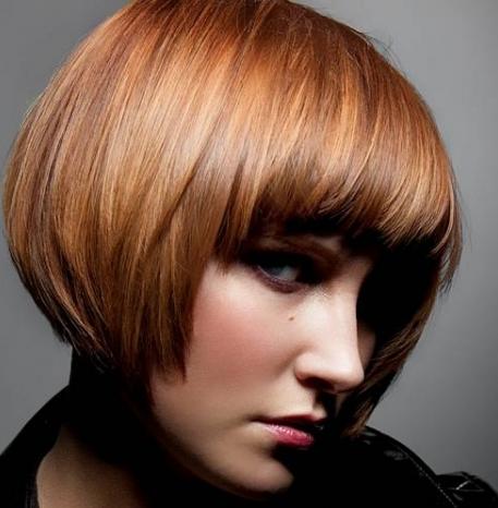 Причёска каре цвет волос