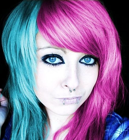 Эмо макияж в