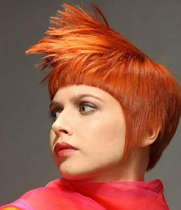 Медно рыжий цвет волос фото