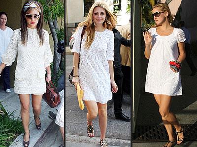 Модные фасоны летних платьев 2012