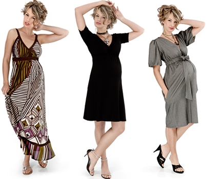 Течений в платье для беременных