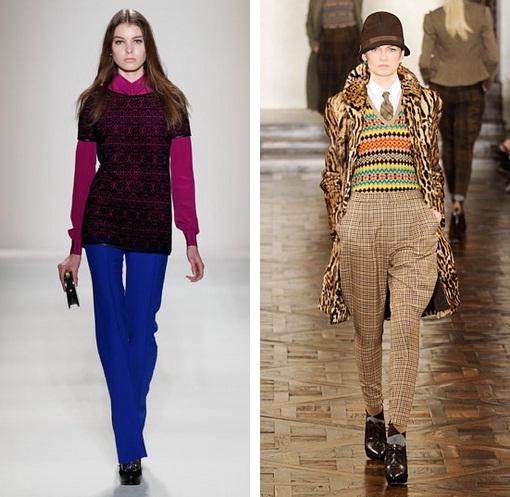 Купить модные брюки для женщин можно