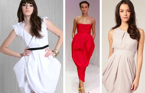 Платье для широких плеч и узких бедер